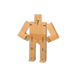 Natural wood cubebot
