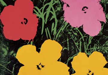 andy warhol flowers exhibition