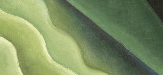 Green colour art prints